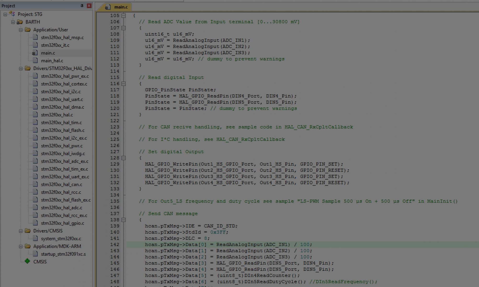 Softwareentwicklung für BARTH mini-PLC's